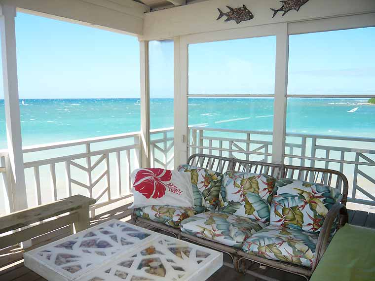 Coconut Cove Surfside Cottage: Beachfront Cottages