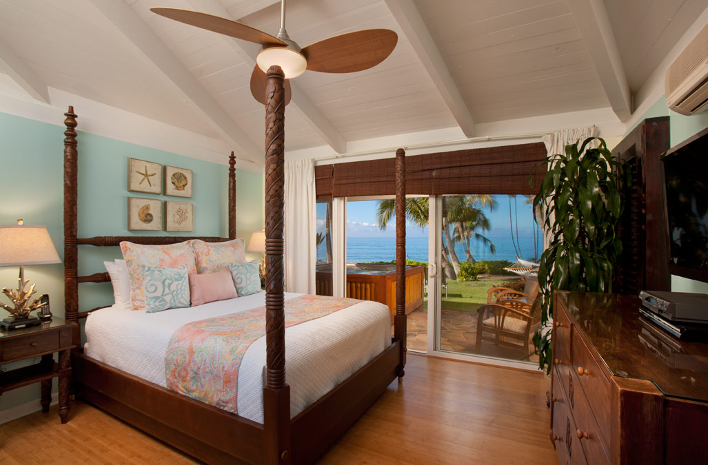 Second bedroom with oceanview
