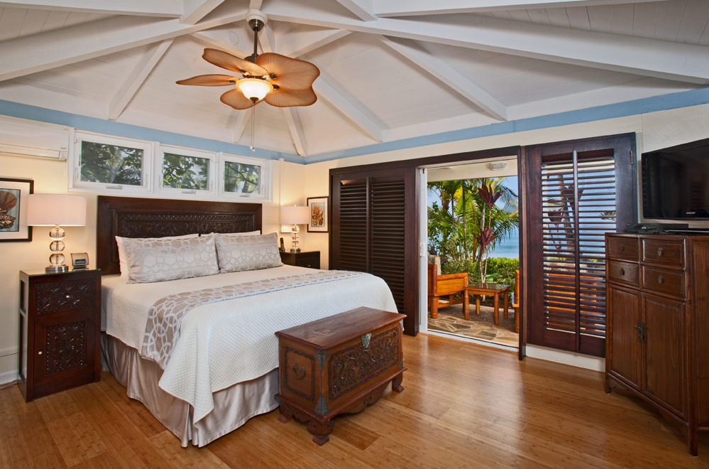Master bedroom with oceanview