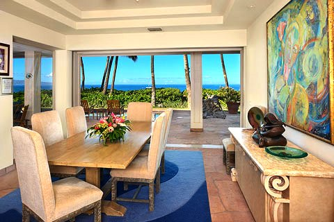 Dining room, oceanview