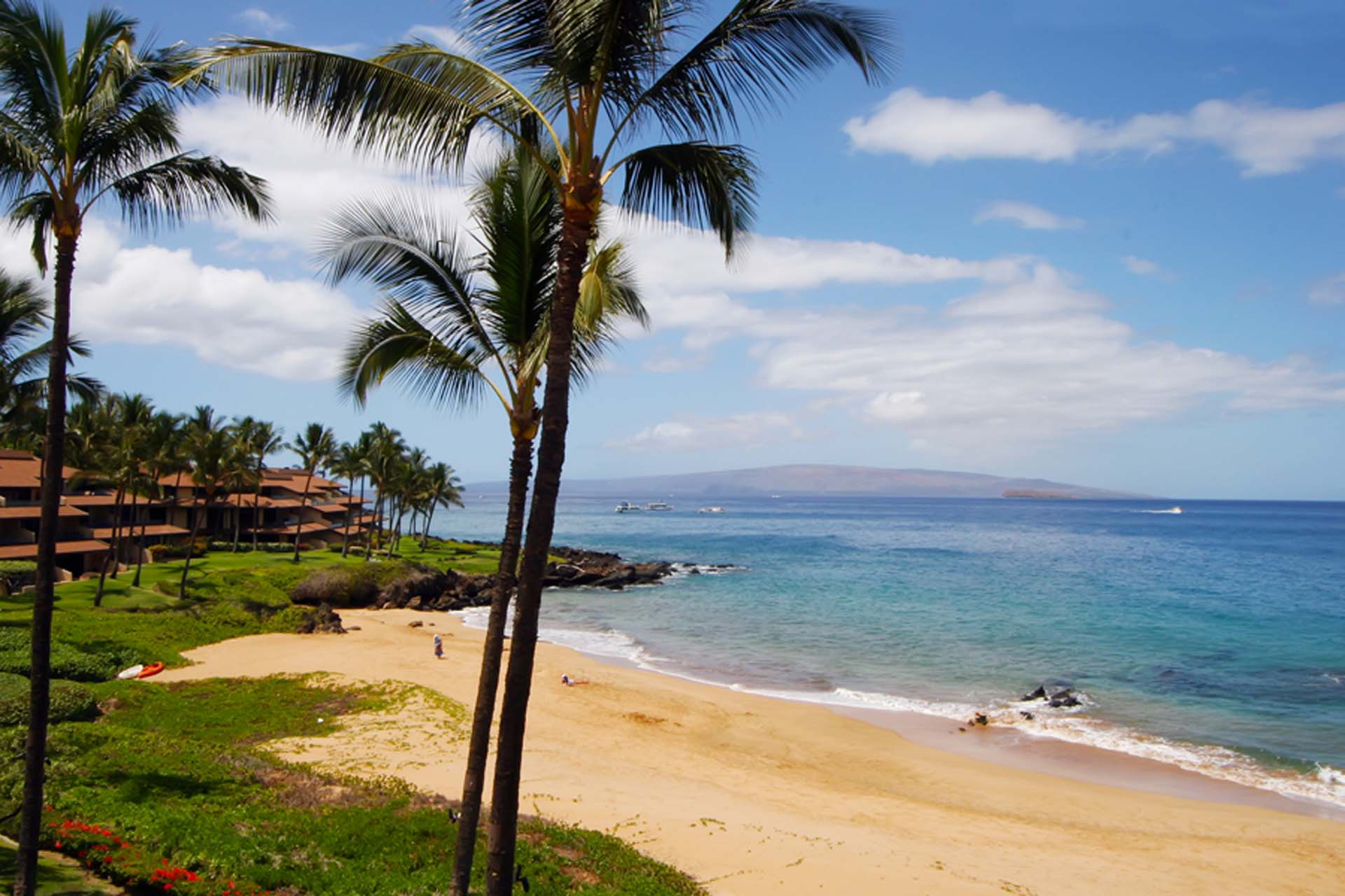 Makena Surf with beachfront views