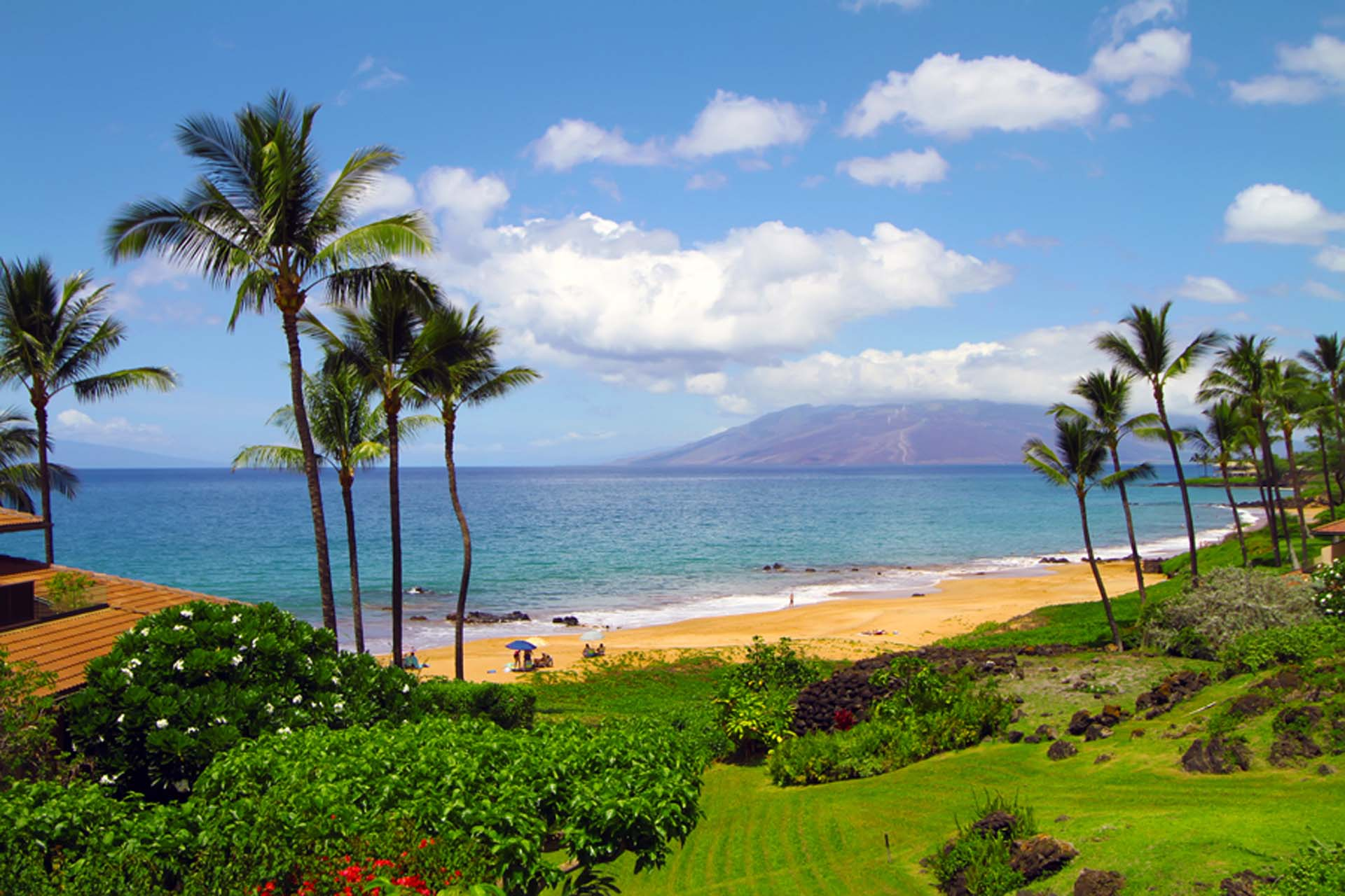 Makena Surf C-103 oceanview from unit