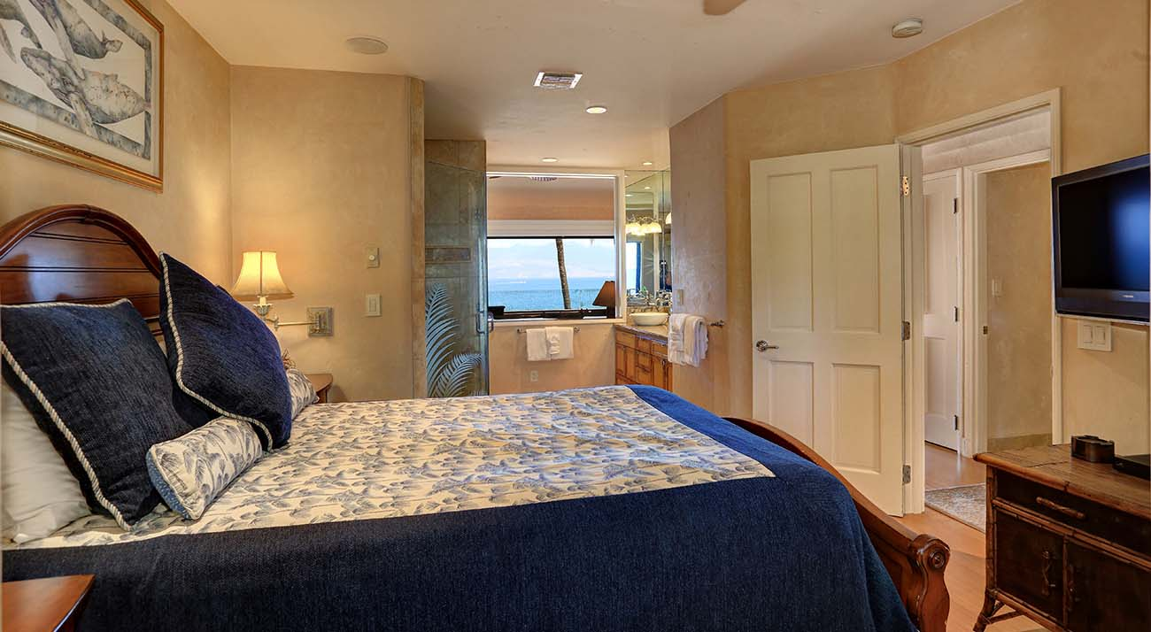 Master bedroom, oceanview