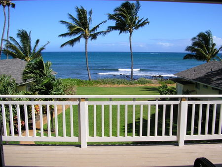 Oceanview from deck