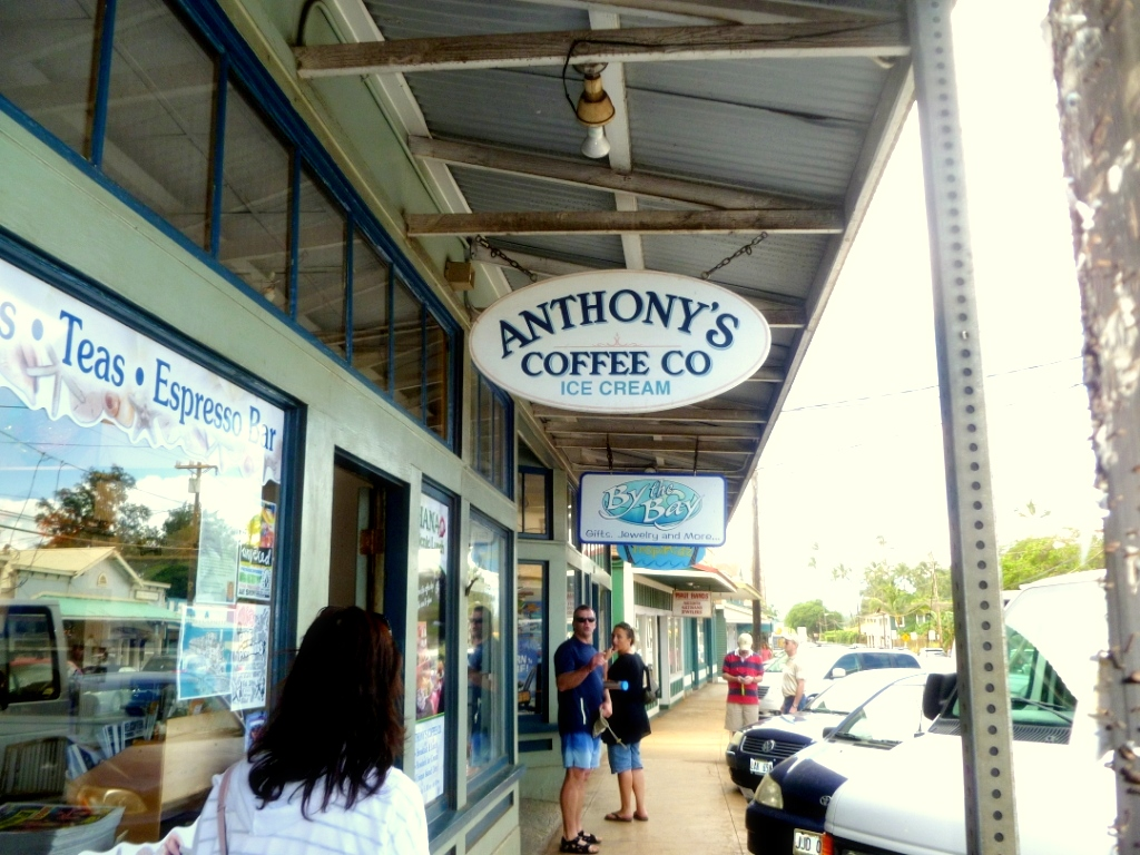 Paia, Anthoney's Coffee