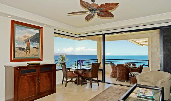 Oceanview from dining area