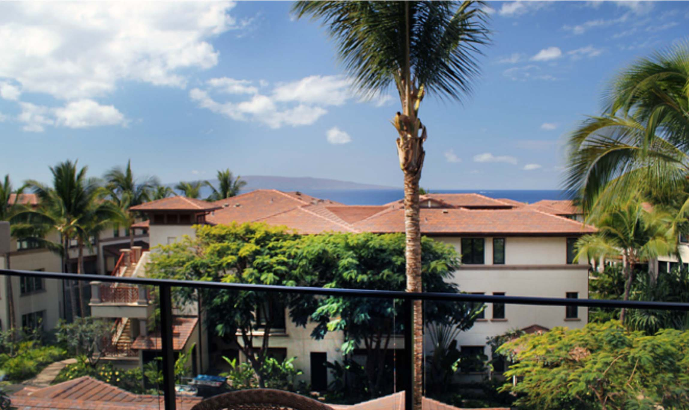 Deck View Wailea Beach Villas I-204