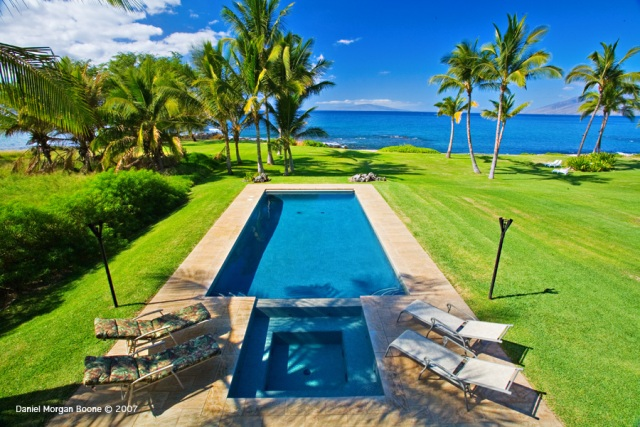 Wailea Sunset Estate: Oceanfront Estate